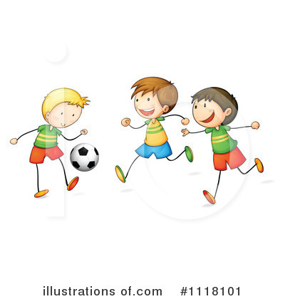 Soccer Clipart #1118101 by Graphics RF