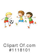 Royalty-Free (RF) Soccer Clipart Illustration #1118101