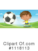 Royalty-Free (RF) Soccer Clipart Illustration #1118113