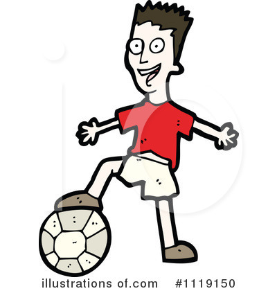 Soccer Clipart #1119150 by lineartestpilot