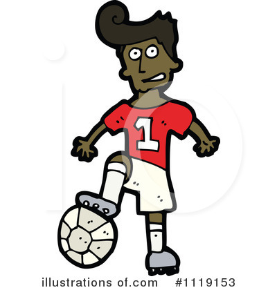 Soccer Clipart #1119153 by lineartestpilot