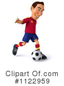 Soccer Clipart #1122959 by Julos
