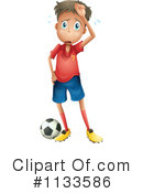 Soccer Clipart #1133586 by Graphics RF
