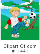 Royalty-Free (RF) Soccer Clipart Illustration #11441