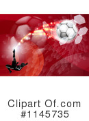 Royalty-Free (RF) soccer Clipart Illustration #1145735