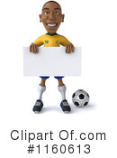 Royalty-Free (RF) soccer Clipart Illustration #1160613