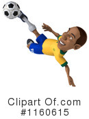 Royalty-Free (RF) soccer Clipart Illustration #1160615