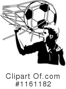 Royalty-Free (RF) soccer Clipart Illustration #1161182
