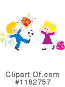 Royalty-Free (RF) Soccer Clipart Illustration #1162757