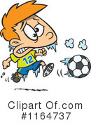 Royalty-Free (RF) soccer Clipart Illustration #1164737