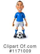 Royalty-Free (RF) soccer Clipart Illustration #1171009