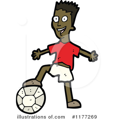 Soccer Clipart #1177269 by lineartestpilot