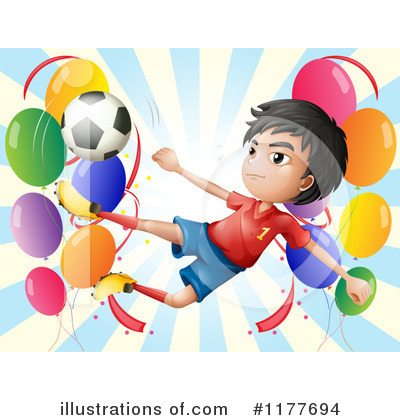 Royalty-Free (RF) Soccer Clipart Illustration by Graphics RF - Stock Sample #1177694