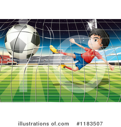 Soccer Clipart #1183507 by Graphics RF