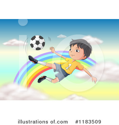 Royalty-Free (RF) Soccer Clipart Illustration by Graphics RF - Stock Sample #1183509