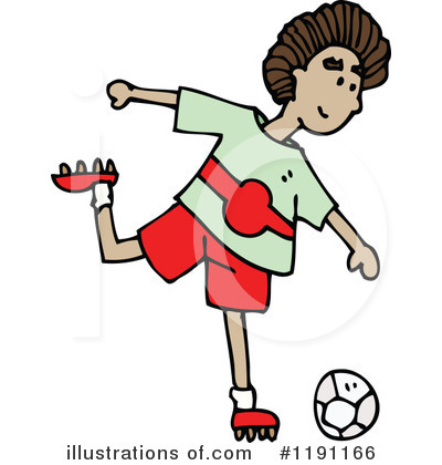 Soccer Clipart #1191166 by lineartestpilot