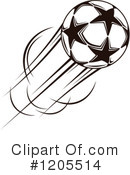 Royalty-Free (RF) Soccer Clipart Illustration #1205514