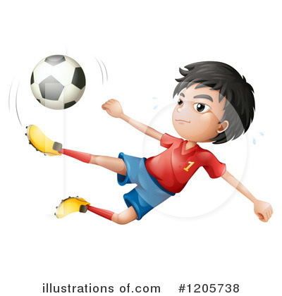 Soccer Clipart #1205738 by Graphics RF