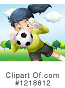Soccer Clipart #1218812 by Graphics RF