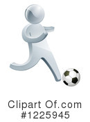 Royalty-Free (RF) Soccer Clipart Illustration #1225945