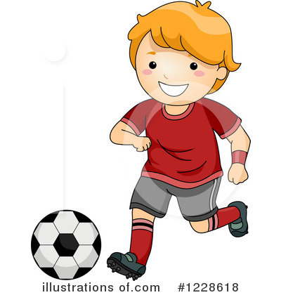 Football Clipart #1228618 by BNP Design Studio