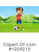 Soccer Clipart #1229210 by Graphics RF