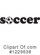 Soccer Clipart #1229638 by Johnny Sajem