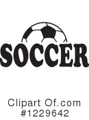 Soccer Clipart #1229642 by Johnny Sajem