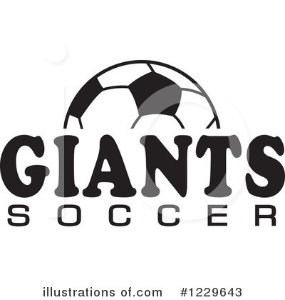 Soccer Clipart #1229643 by Johnny Sajem