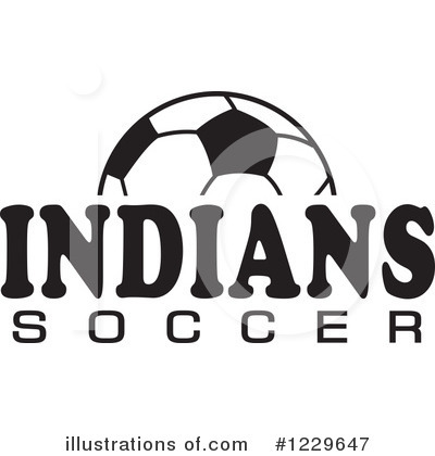 Soccer Clipart #1229647 by Johnny Sajem