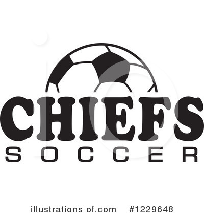 Soccer Clipart #1229648 by Johnny Sajem