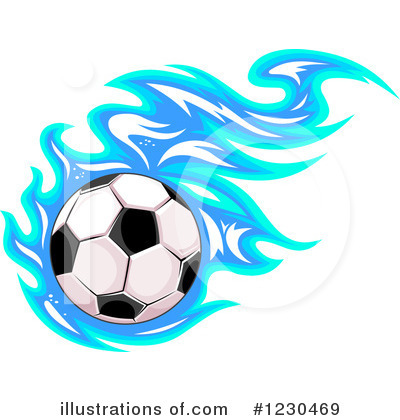 Soccer Clipart #1230469 by Vector Tradition SM
