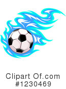 Royalty-Free (RF) Soccer Clipart Illustration #1230469