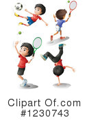 Soccer Clipart #1230743 by Graphics RF
