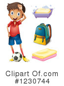 Soccer Clipart #1230744 by Graphics RF