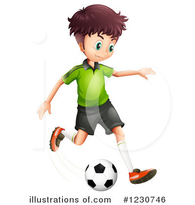 Soccer Clipart #1230746 by Graphics RF