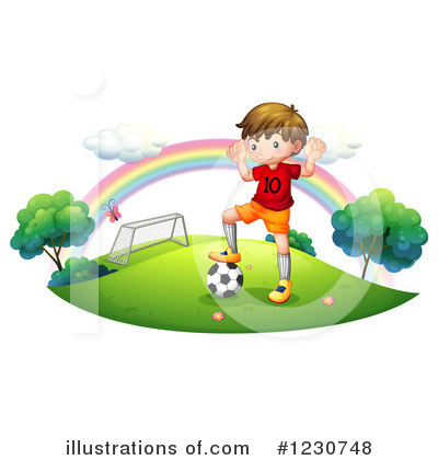 Soccer Clipart #1230748 by Graphics RF