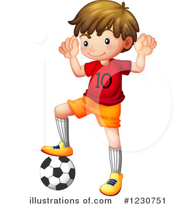 Soccer Clipart #1230751 by Graphics RF