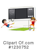Soccer Clipart #1230752 by Graphics RF