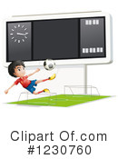 Soccer Clipart #1230760 by Graphics RF
