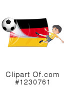 Soccer Clipart #1230761 by Graphics RF