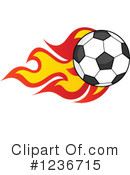 Soccer Clipart #1236715 by Hit Toon