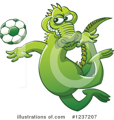 Football Clipart #1237207 by Zooco