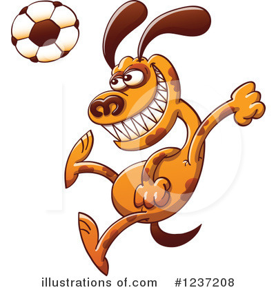 Football Clipart #1237208 by Zooco
