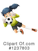 Soccer Clipart #1237803 by Graphics RF