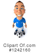 Soccer Clipart #1242160 by Julos