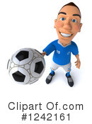 Soccer Clipart #1242161 by Julos