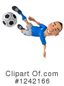 Soccer Clipart #1242166 by Julos