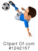 Soccer Clipart #1242167 by Julos