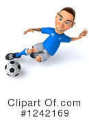 Soccer Clipart #1242169 by Julos
